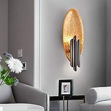 ETH Modern Creative Oval Resin LED Wall Lamp, Decorative Lighting for Living Room/Hotel/Club/Restaurant/Corridor/Bedroom B...