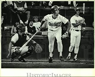 Historic Images - 1987 Press Photo Danny Heep, San Antonio Dodgers Baseball Player at Home Plate