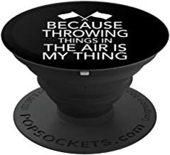 Color Guard Because Throwing Things In The Air Is My Thing - PopSockets Grip and Stand for Phones and Tablets