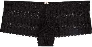 Heidi Klum Intimates Women's Lace Boyleg Brief Underwear - Ladies Sexy Boyshort Panties