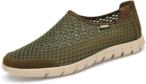 XHD-Chaussures Chaussures Chaussures de Gymnastique pour Les Hommes, Chaussures de Sport Tout-Aller, Style décontracté (Couleur   Army vert, Taille   46 EU)  nous prenons les clients comme notre dieu