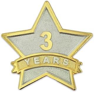 service award pins years