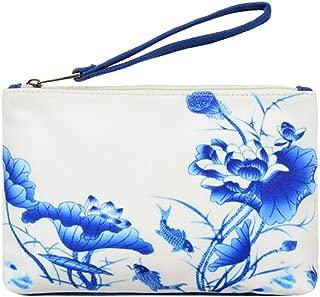 Mellow World Scarlett Tb1312, Canvas Wristlet. Water Resistant, Cell Phone Purse Travel Purse