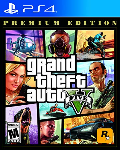 Grand Theft Auto V: Premium Edition PS4 for 12.99