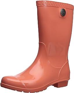 35fec3381a9 Amazon.com  Orange - Rain Boots   Rain Footwear  Clothing