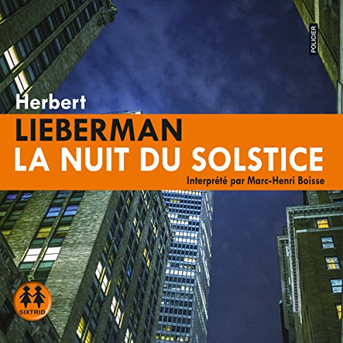 La nuit du solstice audiobook cover art