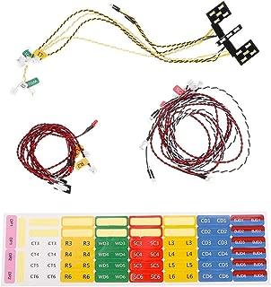 Conjunto de unidad de luz LED Killerbody con caja de control 17Pcs LEDS para KB 1//10 MARAUDER Ⅱ Axial SCX10 Traxxas TRX-4 RC Car