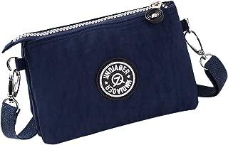 Wiwsi Women Casual Multi-Layers Wallet Purse Zipper Clutch Phone Wristlet Bags