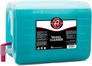 Adam's Deep Wheel Cleaner (5 Gallon) - Color Changing Formula That Eliminates Tough Brake Dust On Rims, Clear Coated, Polished, Painted & Plasti Dipped Wheels- Gentle On Most Finishes During Car Wash