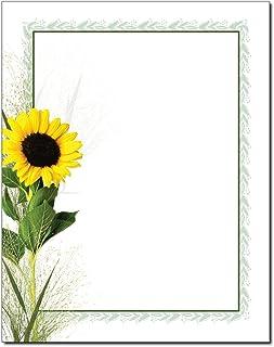 Sunflower Letterhead Laser & Inkjet Printer Paper (100 Pack)
