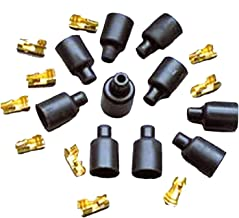 Taylor Cable 46059 180-Degree Socket Style Distributor and Coil Boot/Terminal Kit - Pack of 10