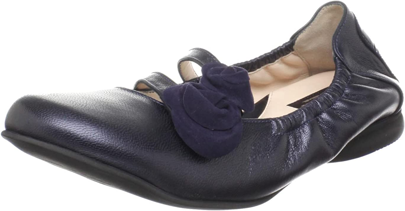 BeautiFeel Women's Nika Flat Navy Spark EU US M Max 80% OFF 39 Leather Limited time cheap sale 8