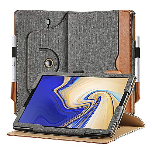 EasyAcc Case for Samsung Galaxy Tab S4 with S Pen Holder, [360 Degree Rotating/...