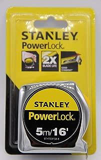 STANLEY - POWER LOCK : Tape Measure - 5M/16 Inch (4715898200048)