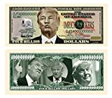 Set of 100 - Donald Trump Dump Trump Four Billion Dollar Bill - Highly Collectible Novelty Dollar - Funny for Democrats or Republicans - Give the Gift of Laughter- Funniest Political Gift of 2016