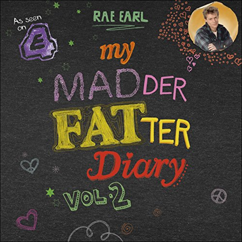 My Madder Fatter Diary audiobook cover art