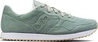 Saucony Originals Men's DXN Trainer CL Nubuck Sneaker, Green, 12 Medium US
