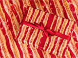 "Gift Wrapping Paper 30"" x 84"" Sheet Vintage Style (Bacon)"