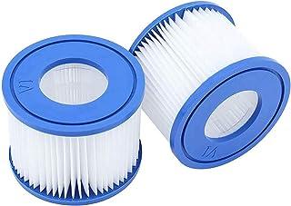 WRYIP VI Cartucho de filtro de repuesto para Lay-Z-Spa Miami, cartucho de filtro de repuesto para Bestway VI Pool Filter, Vegas, Monaco, tamaño 6-58323 (1 unidad)