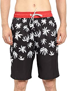 Mens Quick Dry Short Swim Trunks with Mesh Lining