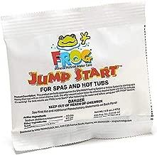 Pool Frog Jump Start for Spas & Hot Tubs 1.5 OZ Per - Frog Ease- SmartChlor - Frog Serene -Quick Dissolving Granular Formula 01-14-6012-500 Gallons Per Packet (4)