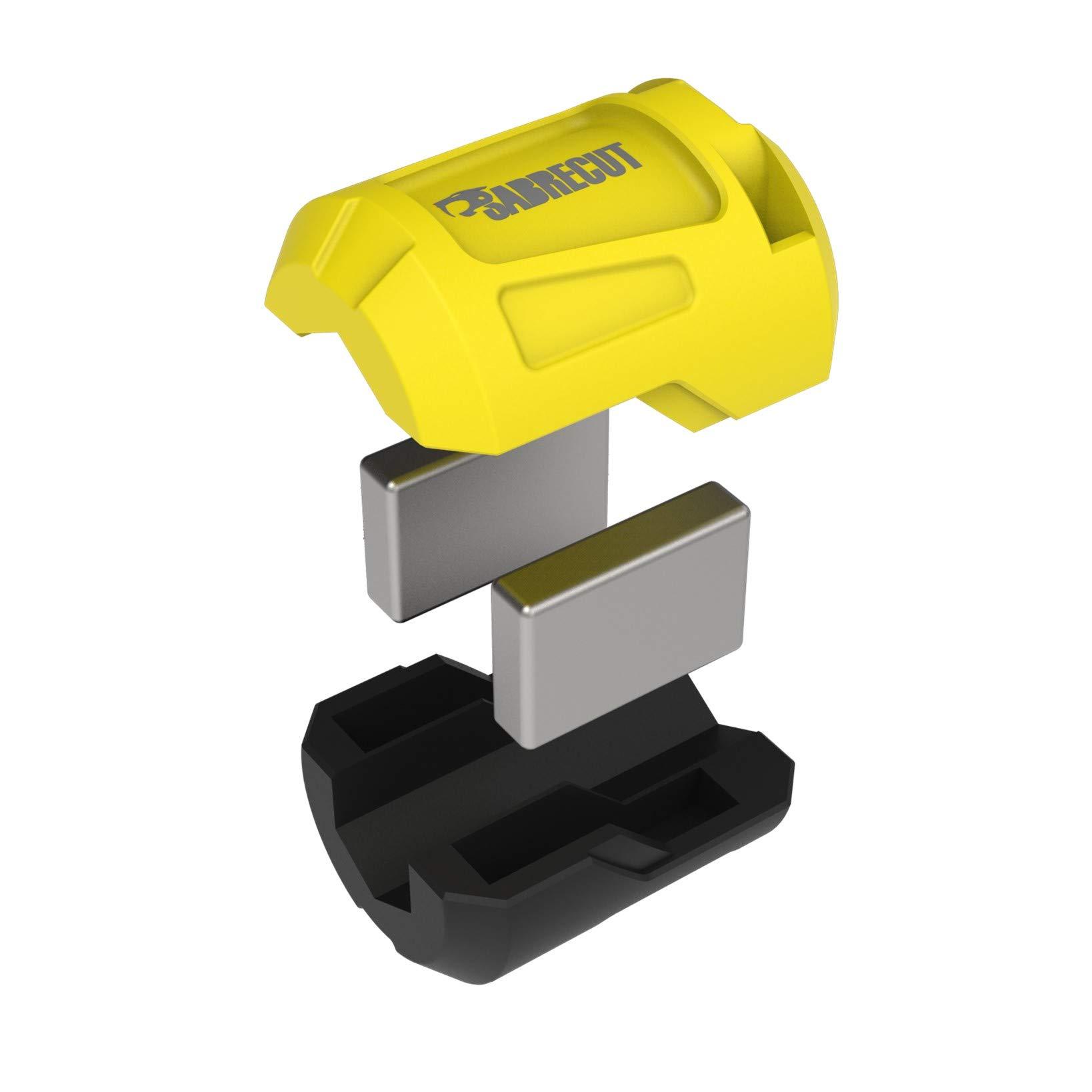 destornilladores y otros accesorios Soporte magn/ético para tornillos de impacto SabreCut SCRMSH/_3 compatible con Dewalt, Bosch, Makita, Irwin, etc.