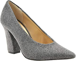 J. Renee Womens Madisson Grey Size: 9.5 US