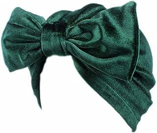 Litetao Women Fashion Bow Casual Chemo Hat Beanie Scarf Turban Head Wrap Cap