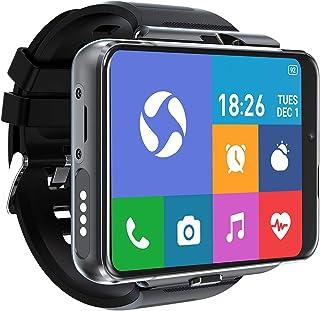 "[4U.com] 4G/LTE Smart Watch Phone Android 9.0 8-Core CPU 4GB+64GB 2.88"" HD pantalla 13MP+5MP cámara dual 2300mAh IP67 impermeable WiFi Bluetooth GPS deportes ritmo cardíaco"