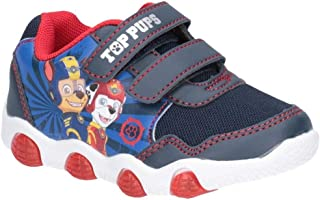 Leomil Paw Patrol Childrens Boys Chase And Marshall Touch Fastening Trainer