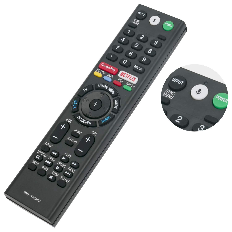Remplazo Mando a Distancia Por Voz RMF-TX300U Sony 4K Smart