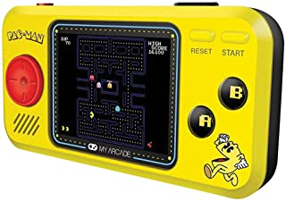 "Johnson Smith Co. - DREAMGEAR Pac Man Pocket Player - Handheld w/ 2.75"" Full Color Screen & Headphone Jack"