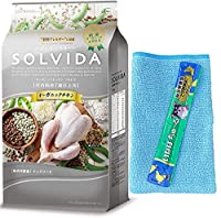 ソルビダ グレインフリー チキン 室内飼育7歳以上用 3.6kg【マイクロファイバータオルとチュールプレゼント】