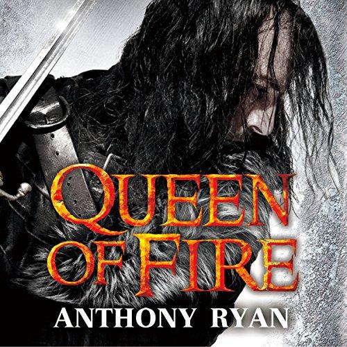 Queen of Fire audiobook cover art