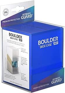 Ultimate Guard ugd010691–Boulder Deck Case, 100Plus, tamaño estándar, Zafiro
