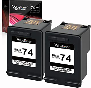 Valuetoner Remanufactured Ink Cartridge Replacement For HP 74 CZ069FN CB335WN (2 Black) 2 Pack