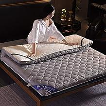 Comfortable Mattress Thicken Waterproof Mattress,Japanese Tatami Futon Mat Tatami Floor Mattress-Red Wine Small Double 120...