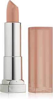 Maybelline New York Color Sensational Nude Lipstick Satin Lipstick, Bare All, 0.15 Ounce (Pack of 1)