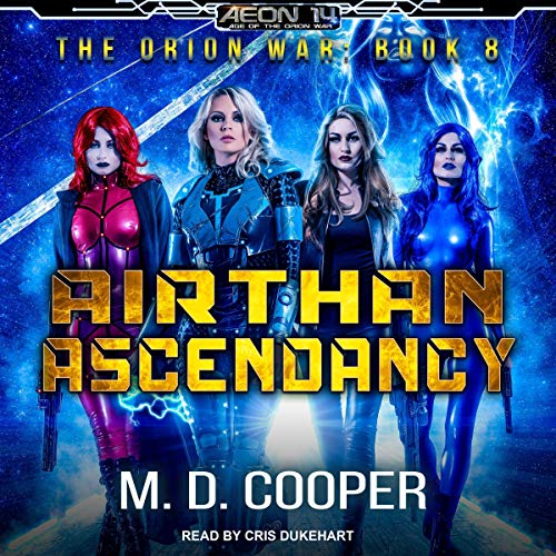 Airthan Ascendancy audiobook cover art