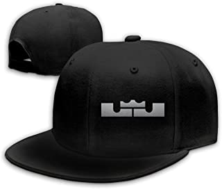 Unisex Classic Color-Lebron-James-Logo Adjustable Baseball Cap Black