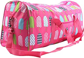 Printed Duffle Bag- Pink Popsicles