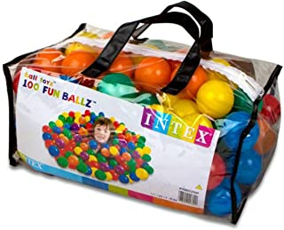 Fun Balls Intex 100 Pcs