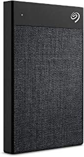 Seagate 2TB Backup Plus Ultra Slim Touch Portable Drive, STHH2000300,Black