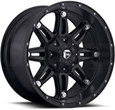 Fuel Hostage 18 Black Wheel / Rim 6x135 & 6x5.5 with a -44mm Offset and a 106.4 Hub Bore. Partnumber D53118209847