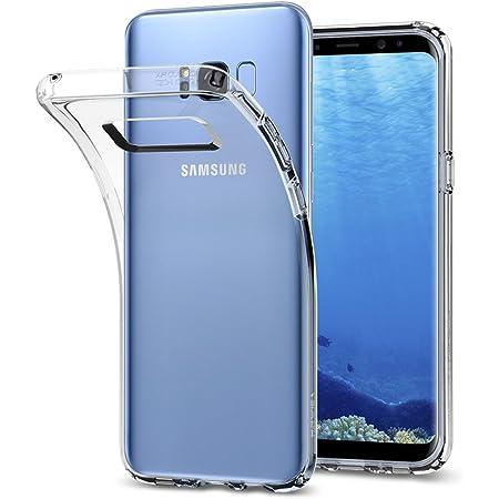 Spigen Coque Samsung S8 Plus [Liquid Crystal] Protection aux 4 Coins, Ultra Mince, Transparente, Légère, Ajustement Parfait, Coque Compatible avec ...