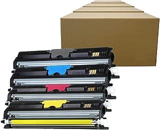 Inktoneram Compatible Toner Cartridges Replacement for Konica Minolta 1600 A0V3 01F A0V3 0HF A0V3 0CF A0V3 06F Magicolor 1600W 1650EN 1680MF 1690MF (Black, Cyan, Magenta, Yellow, 4-Pack)