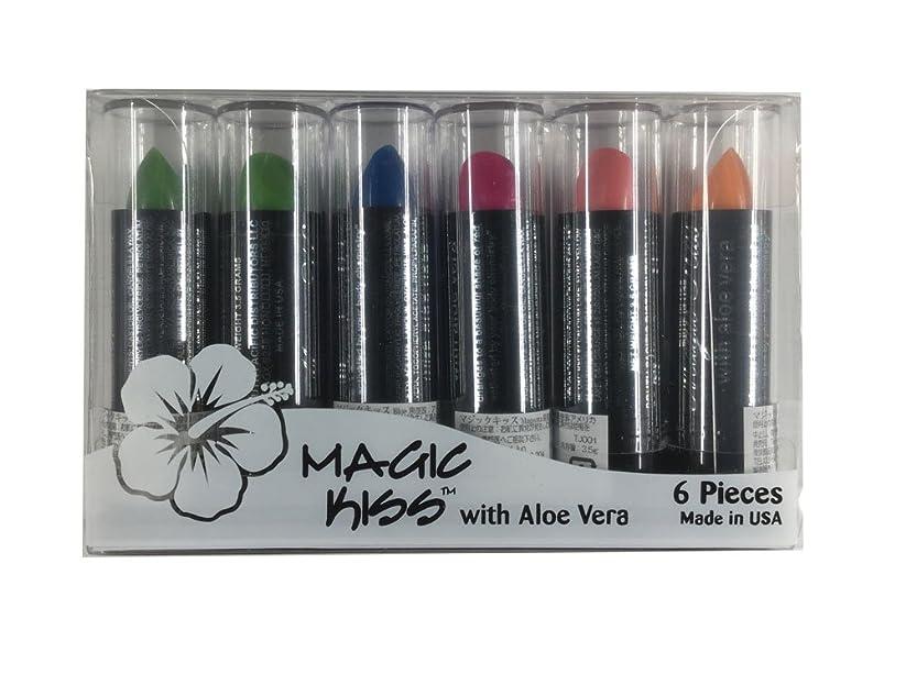 なぞらえるニンニク気分Magic Kiss with Aloe Vera 6本 マジック キス
