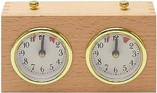 Sonline Minuterie D'éChecs, Horloge D'éChecs Internationale NuméRique Professionnelle, Compte à Rebours en Bois, Minuterie...