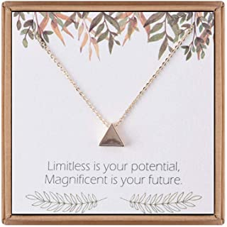Necklaces for Women Girls Gifts, Gold Plated Pendant Necklace Mother Daughter Gifts Tree of Life Teacher Gifts Pineapple, Elephant Necklace Gifts for Women Girls Graduation Gifts for Her
