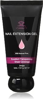 Makartt P-21 Poly Nail Builder Gel Hybrid Gel 50ML 1.76oz Natural Pink Nail Extension Gel Nail Enhancement Nail Thickening Tool